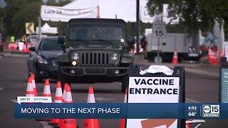 COVID-19 vaccine rollout in Arizona