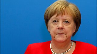 Health concerns raised after German Chancellor Angela Merkel is seen shaking at public event