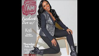 Kali gives insight into being a salon owner on AM Wake-Up Call