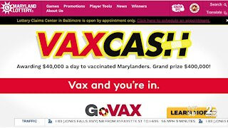 Vaccine lottery begins today