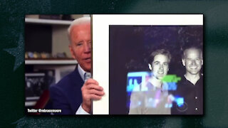 Joe Biden Caught With Teleprompter, Embarrassed with Turnout at Latinos for Biden Parade