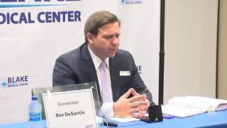 Gov. DeSantis gives coronavirus update from Bradenton