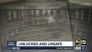 Unlocked and Unsafe: Inmate letter: Unlocked prison doors lead to 'symphony of insanity'
