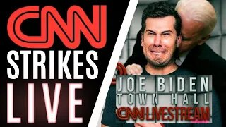 Crowder Stream TAKEN DOWN by CNN *OWNER* Warner Media MINUTES Into Town Hall *HOSTED BY CNN*