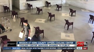 Mission at Kern County homeless shelter helping public during heatwave