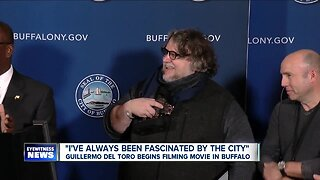 """Hollywood arrives in downtown Buffalo to film """"Nightmare Alley"""""""
