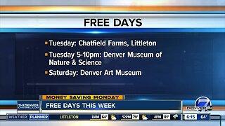 Money Saving Monday: Free things to do this week