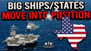 12.9.20: STORM WARNING!!! Troops, Ships, States...Something Strange is happening!