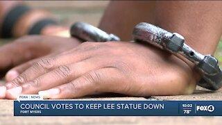 Robert E. Lee statue permanently taken down