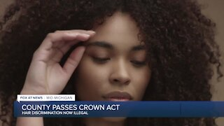 Ingham County leads way with hair discrimination resolution
