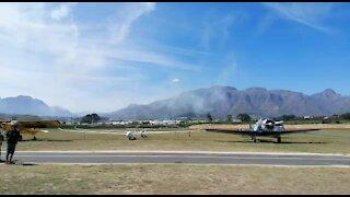 SOUTH AFRICA - Cape Town - Stellenbosch Air Show (Video) (uHs)