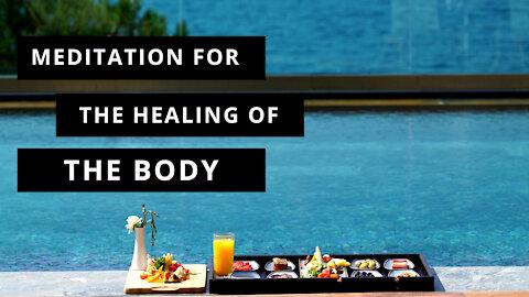 Guided Meditation for Healing of Body & Chakras w/ Deep Breaths, Binaural Beats, & Rainforest Music