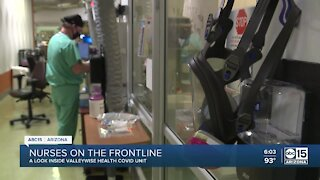 Nurse discusses state of COVID-19 inside Valley hospitals