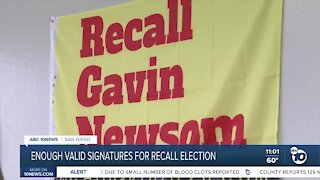Enough valid signatures for recall election
