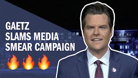 Gaetz SLAMS False Accusations and Media Smear Campaign on Newsmax
