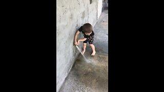Kids love water