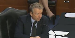 Rand Paul And Fauci Have Heated Fight About Masks