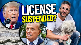 Rudy Giuliani has a license suspended! Viva Frei Vlawg