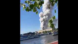 Sound Up! Explosion In Russia At A Fireworks Factory