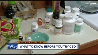 What to know before you try CBD