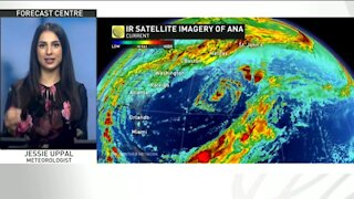 Ahead of the official start to hurricane season, Ana has formed