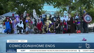 Comic Con at Home ends
