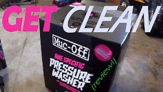 Muc-Off Pressure Washer review & tutorial - Random Garage