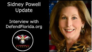 New Interview with Sidney Powell: Sidney Powell Gives Update on Voter Fraud Cases