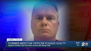 Former Bristow police officer pleads guilty in child sex abuse case