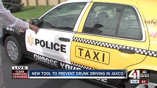 Squad car delivers message: Don't drink and drive