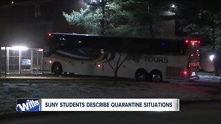 SUNY students share their quarantine experiences