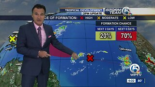 Update on two tropical waves