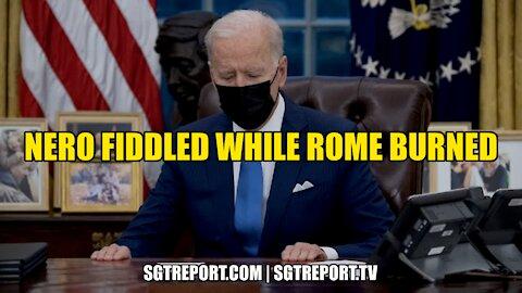 NERO FIDDLED WHILE ROME BURNED -- CHARLENE BOLLINGER