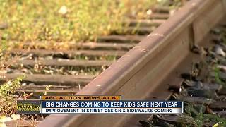 Safety improvements near schools