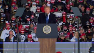 Thousands attend rally for President Trump in Waukesha