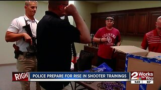 Police prepare for rise in shooter trainings
