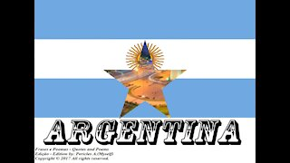 Bandeiras e fotos dos países do mundo: Argentina [Frases e Poemas]
