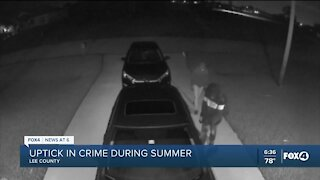 Lee deputies say crime increases during the Summer