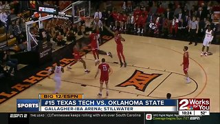 Oklahoma State blown out by Texas Tech, 78-50; 7th straight Big 12 loss for Cowboys