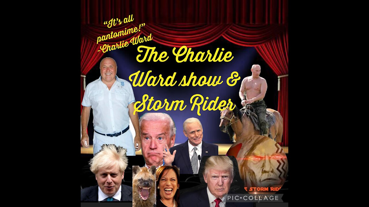 The Charlie Ward Show & Storm Rider Update! - Must Video