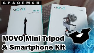 MOVO Mini Tripod and Smartphone Video Kit Unboxing and Overview