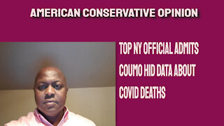 Top NY official says Coumo hid data about COVID deaths