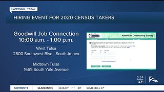 Hiring Event For 2020 Census Takers
