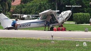 One person hurt in small plane crash in Wellington