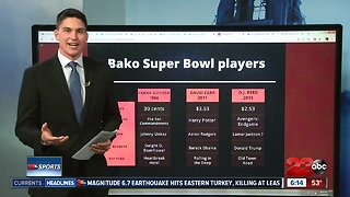 Bakersfield Super Bowl players through the years