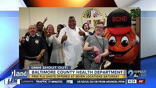 Good Morning From The Baltimore County Health Department