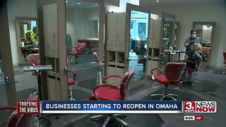 Businesses starting to reopen in Omaha
