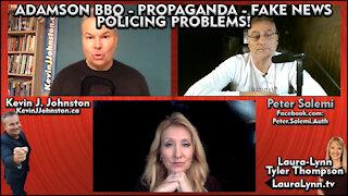 Laura Lynne Tyler Thompson, Kevin J. Johnston & Peter Salemi Talk FAKE NEWS!