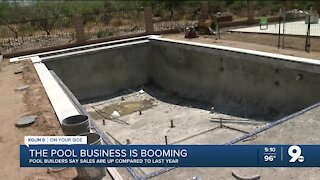 The pool business is booming