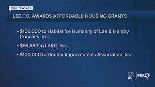 Three Southwest Florida housing partners to receive grant money